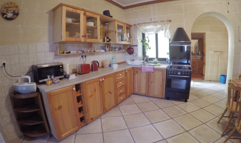 Kitchen Gozo Vacation