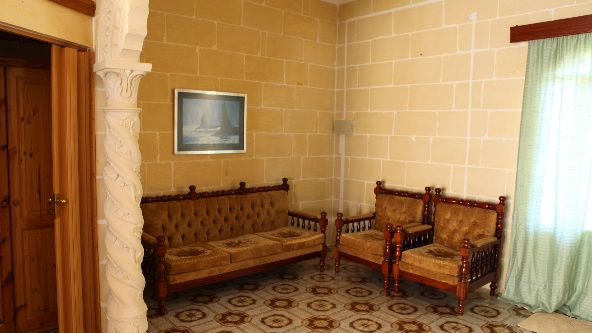 First floor relaxing area Gozo Vacation